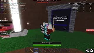 How to enter the group room in Infinity rpg roblox