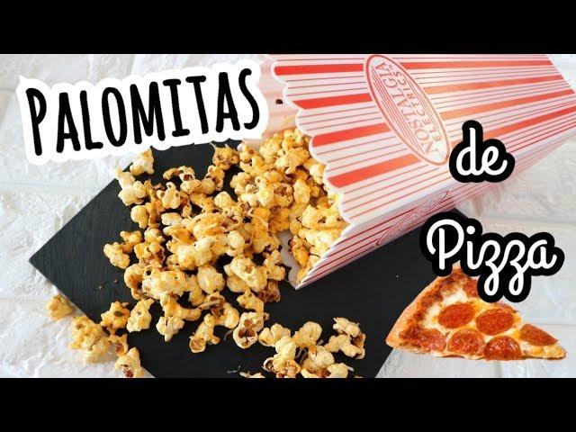PALOMITAS DE MAIZ DE SABORES | Palomitas de Pizza | QUE ECHARLE A LAS PALOMITAS DE MAIZ