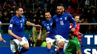 Video Gol Pertandingan Albania vs Italia