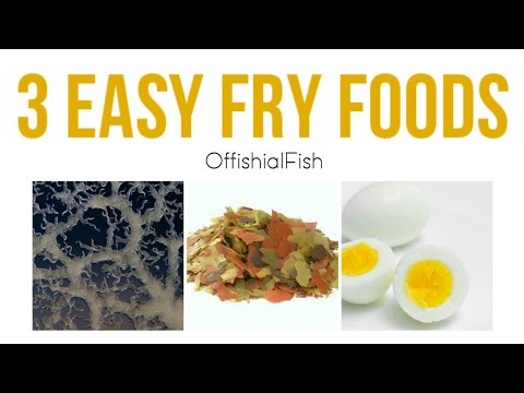 3 Easy Fry (baby Fish) Foods