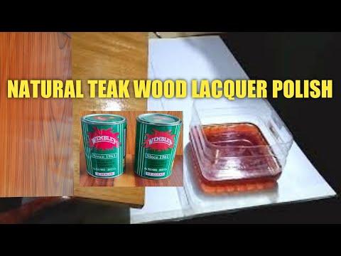 Natural Teak Wood Polish In Hindi