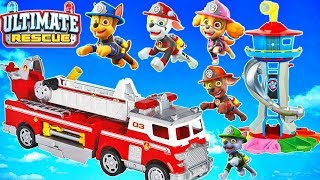 Paw Patrol Ultimate Rescue Episode Toy Pups Rescue Adventure Bay Lookout Playset