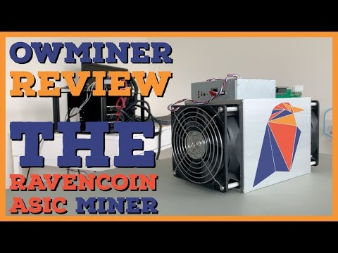 The Ravencoin X16R ASIC Miner | Owminer Review | The Dark Side Of Crypto Mining