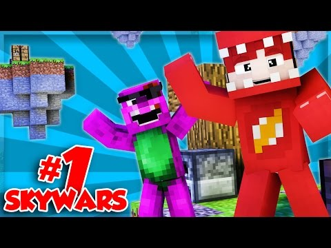 BACK TO BACK EPIC WINS! | Minecraft Skywars with ThatGuyBarney!