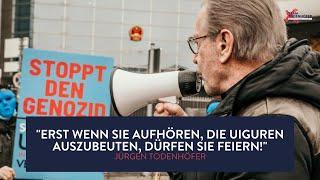 Olympia-Boykott 2022 | Jürgen Todenhöfer über die Lage der Uiguren in China