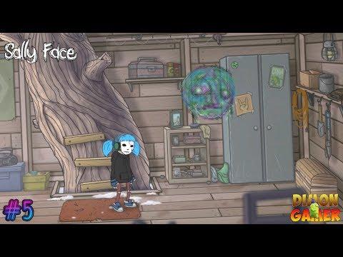 Прохождение игры Sally Face (PC) #5 (Новые Призраки и Мини-Игры Super Gear Boy)