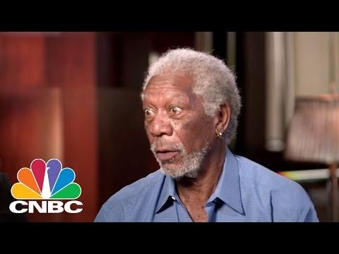Morgan Freeman: The Big Screen Vs. The iPhone Screen | BINGE | CNBC