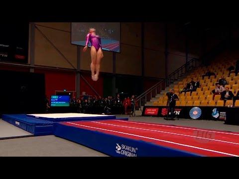 ЧМ по прыжкам на акробатической дорожке - 2015 (команды/женщины)
