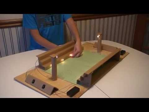 Grade 6 electricity project - YouTube