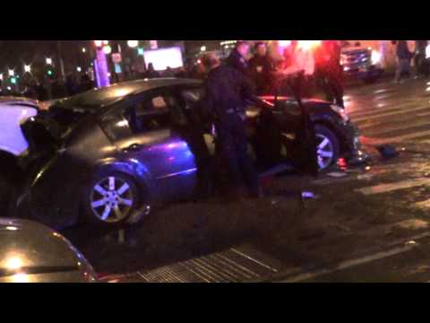 Breaking News: Scary accident in Harlem involving Multiple-automobiles--Republic Reporters