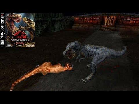 THE TYRANNOSAUR FIGHTS! - Warpath Jurassic Park T-Rex - Warpath Jurassic Park Games