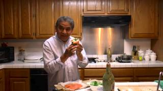 Cooking Salmon Rolls Filled With Spinach And Feta Cheese
