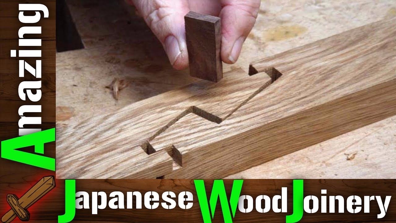 Amazing The Art Of Traditional Japanese Wood Joinery Youtube