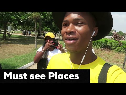 Accra, Ghana: What's Inside? Must see places #VLOG 29 | GAFF