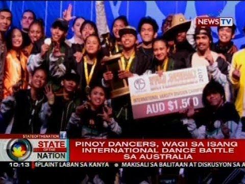 Pinoy dancers, wagi sa isang international dance battle sa Australia