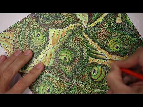 Rotation Tessellation - Visual Art Lesson/Tutorial