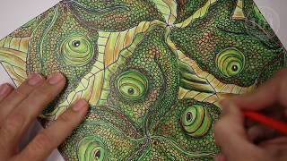 Rotation Tessellation - Visual Art Lesson/Tutorial