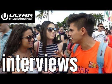 RAVE GIRLS ULTRA MUSIC FESTIVAL INTERVIEWS