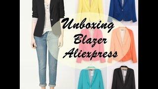 Unboxing Aliexpress - Blazer Rosa