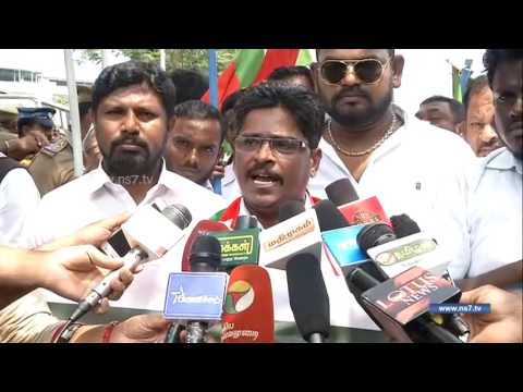 Cops arrest STPI members after trying to siege Raj Bhavan in Chennai   News7 Tamil