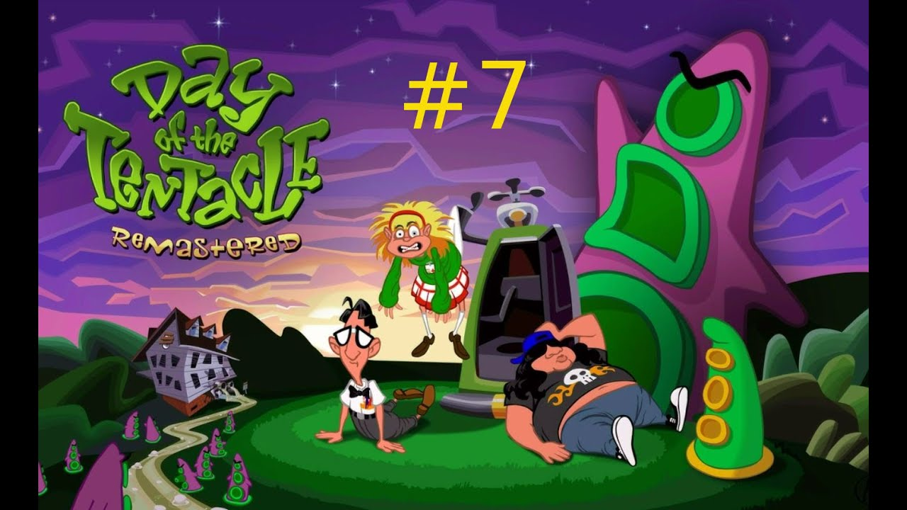 Day Of The Tentacle Lösung