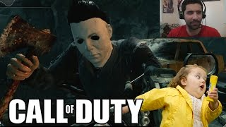Michael Myers:  He Can't See Me....oh Wait (cod Custom Game)