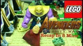 Avengers: Infinity War Recap In 8 Mins | LEGO STOPMOTION |