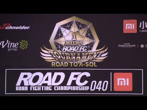 ROADFC 040 OFFICIAL WEIGH-INS