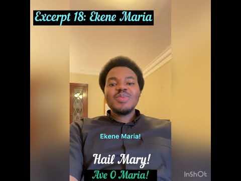 Download Excerpt 18: Ekene Maria