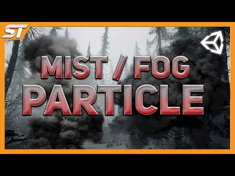 [Unity3D] Creating a mist / fog particle effect with shuriken