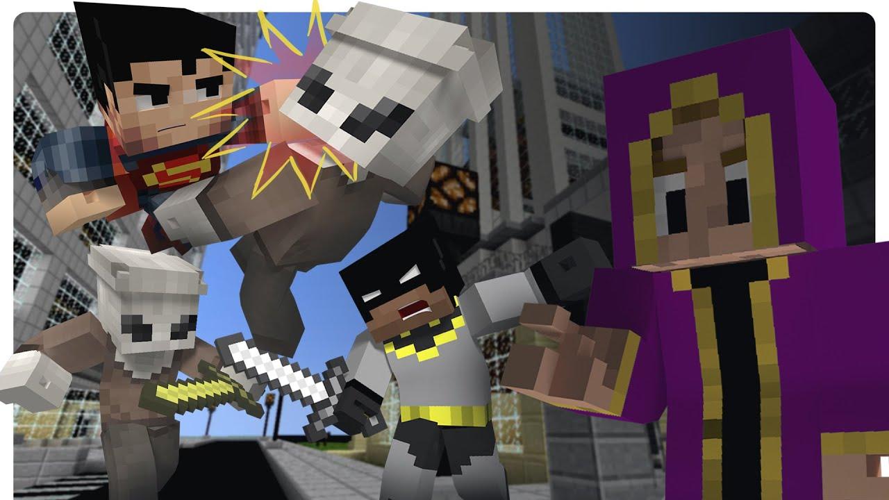 Minecraft justice league ep 1