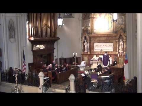 """""""Come with us, O blessed Jesus"""" on Lent 1 @ St. John's Detroit"""