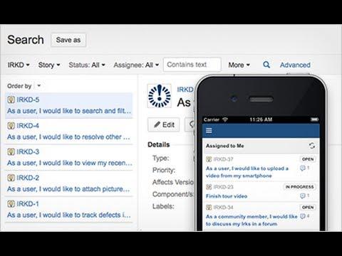 New JIRA Mobile Interface