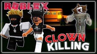 WE GOT CHASED DA KILLER CLOWNS SU ROBLOX