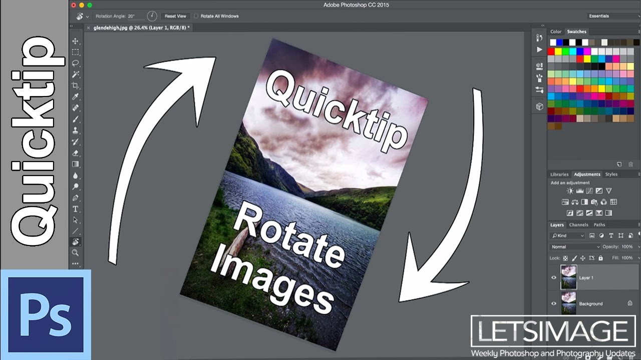 Transform objects in Photoshop - Adobe