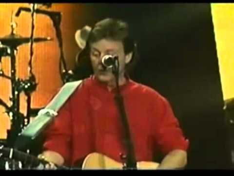 PAUL McCARTNEY - All Things Must Pass - Live Madrid 2004 (subtitulos español)