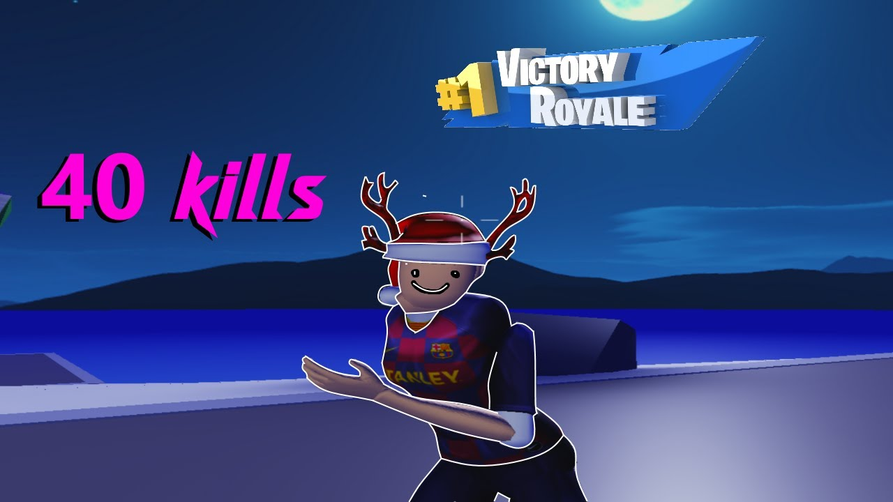 I got 40 kills in Strucid (Roblox Fortnite) - YouTube