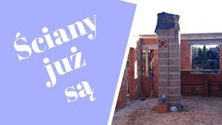 Dom Delicja - Ściany, komin systemowy, stopy pod taras