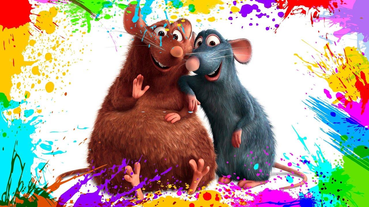 Coloring page Ratatouille Ratatouille | Disney coloring pages ... | 720x1280