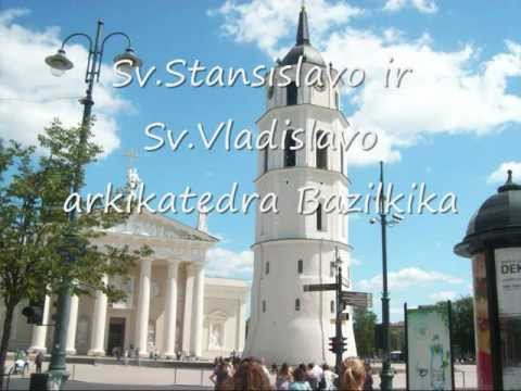 Lietuvos Sostine Vilnius Capital of Lithania