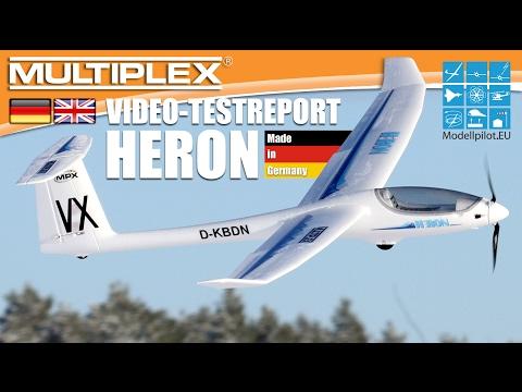 HERON von MULTIPLEX Modellsport Video Testbericht