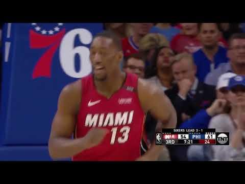 April 24, 2018 - NBA.COM - Playoffs Round 01 Game 05 Miami Heat @ Philadelphia 76ers - Loss (01-04)