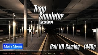 Tram Simulator Dusseldorf (full route) PC Gameplay FullHD 1440p