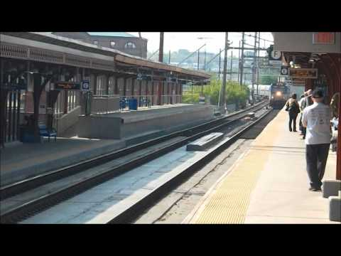 Spring Trains 2012 Part 2 (with SUPER RARE moment, SEPTA station overshoot)