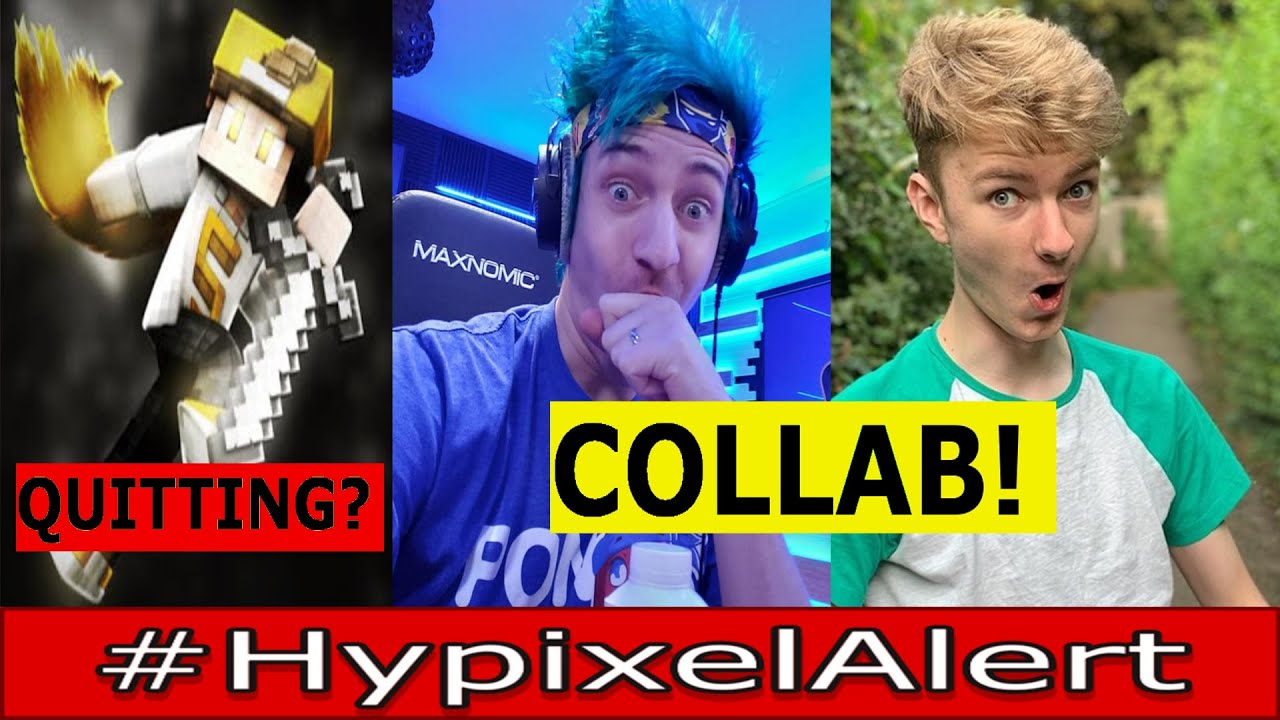 NINJA and TommyInnit COLLAB! #HypixelAlert HUGE Skyblock Update - SpeedSilver QUITTING Skyblock?