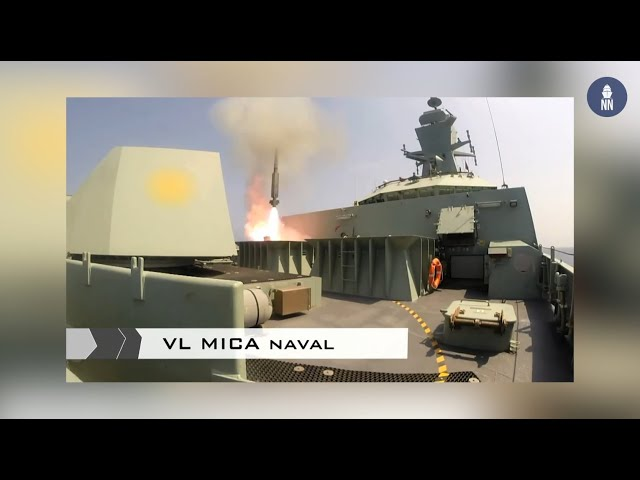 Euronaval: MBDA launches the new VL MICA NG air defence system