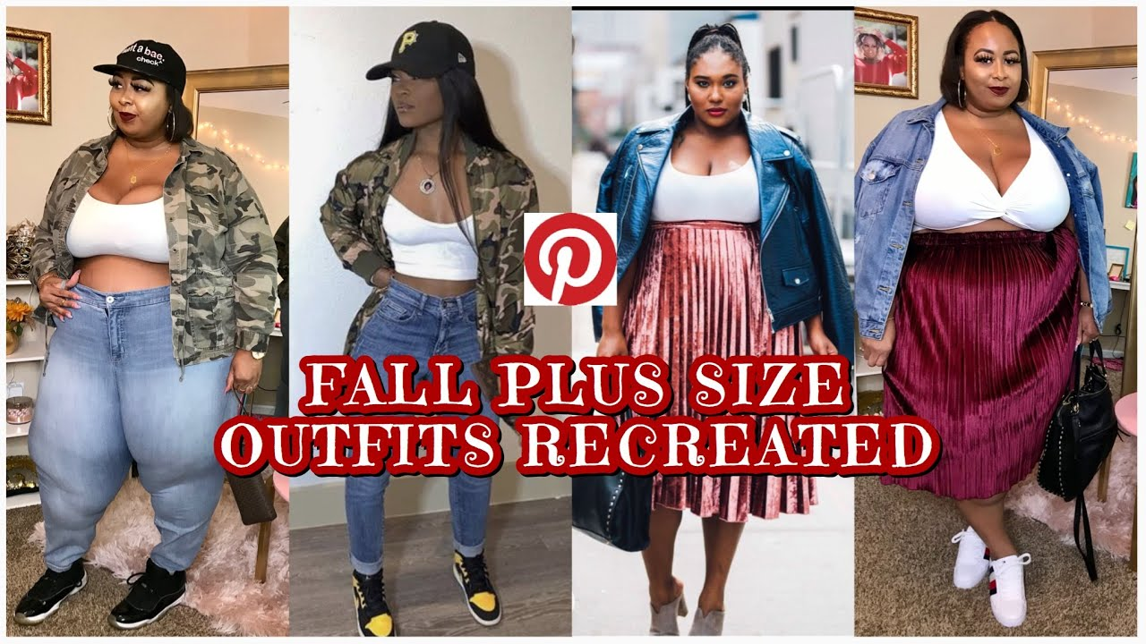 5 FALL PINTEREST INSPIRED PLUS SIZE OUTFITS 🍁🍂