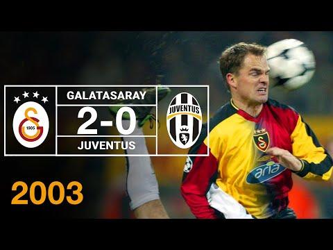 Nostalji Maçlar | Galatasaray 2 - 0 Juventus ( 02.12.2003 )