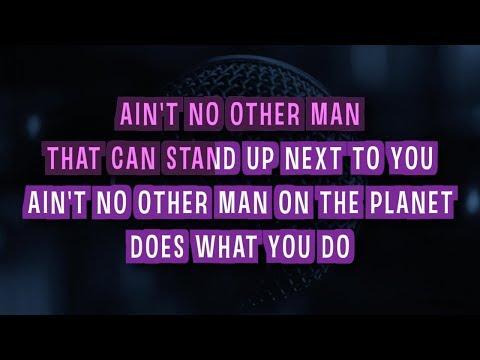 Aint No Other Man Karaoke Version  Christina Aguilera  with Lyrics