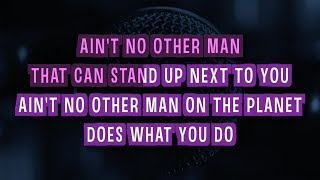 Ain't No Other Man Karaoke Version by Christina Aguilera (Video with Lyrics)